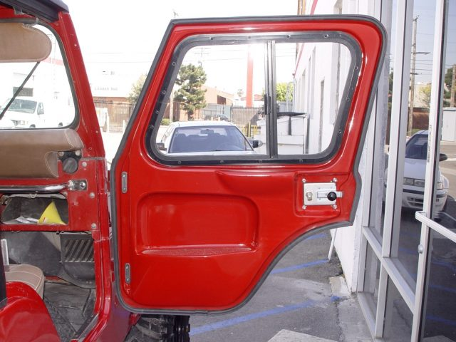 Fiberglass Full Door ... & Hardtop Depot Full Doors are Available for Convertible Jeep CJ5 Models Pezcame.Com