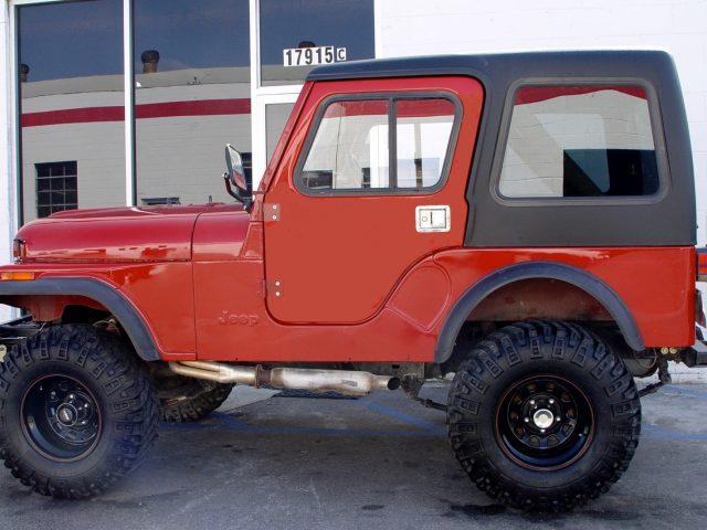 1-Piece Removable Hardtop for Jeep CJ5 ... & Hardtop Depot Quality Hardtop for Jeep CJ5 Late Model (1976-1983)