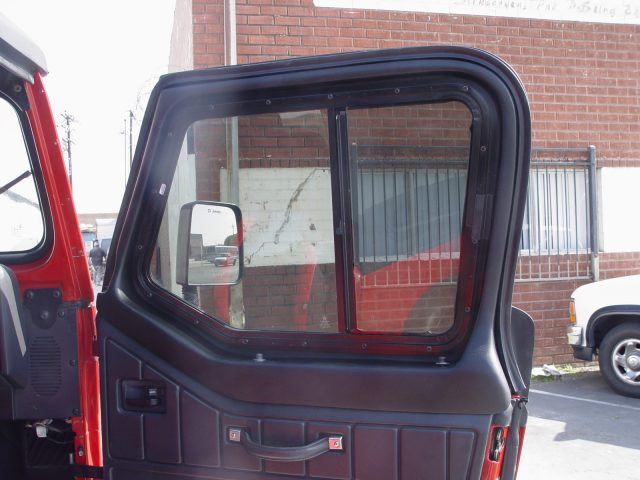 Upper Fiberglass Half-Door Inserts for Jeep Wrangler YJ (1986-1995) u0026 Wrangler TJ (1997-2006) & Jeep Half Doors are Available for All Hard or Soft Top Convertible ...
