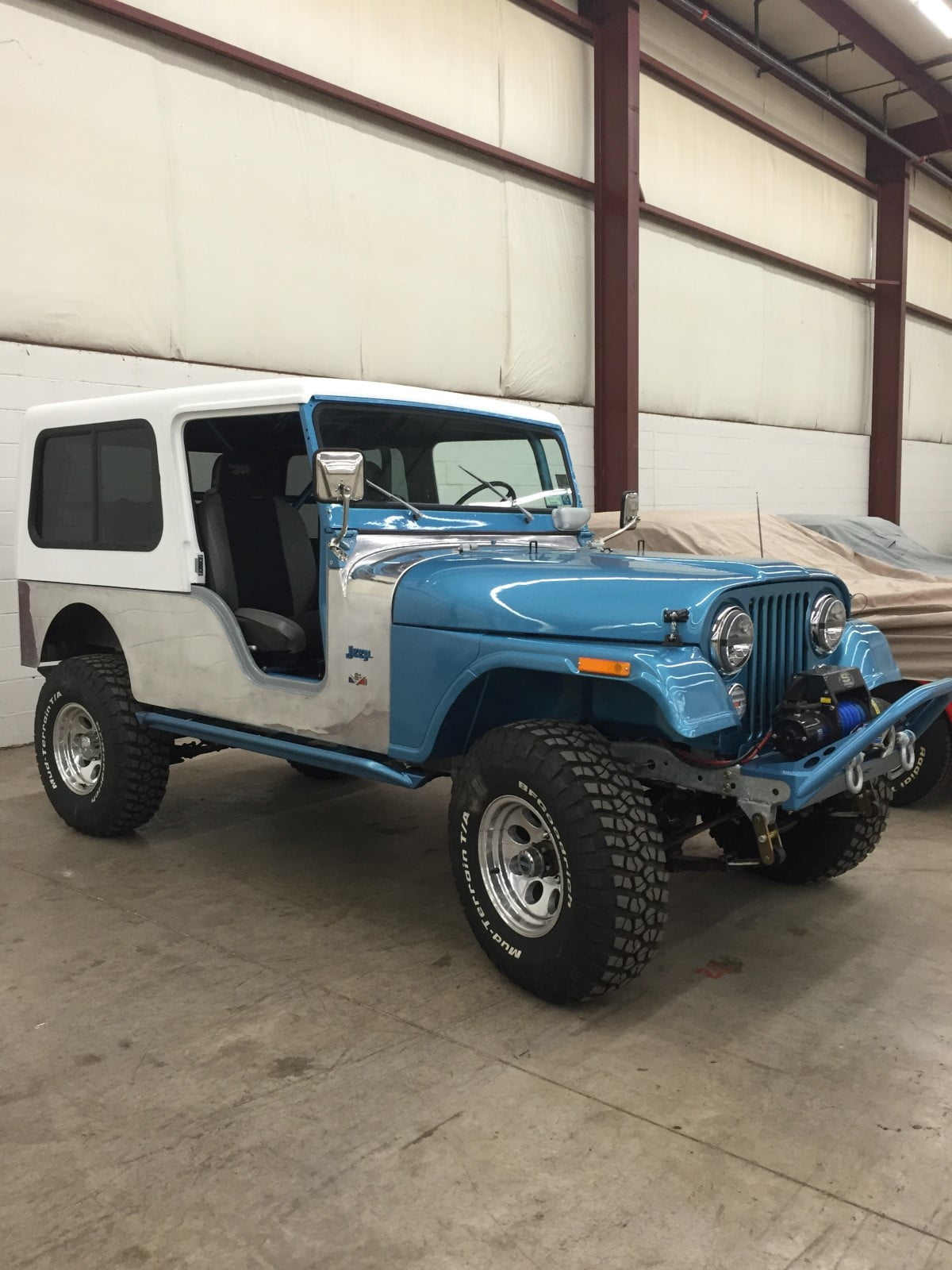 Hardtop Depot Quality Hardtop For Jeep Cj6 With Door