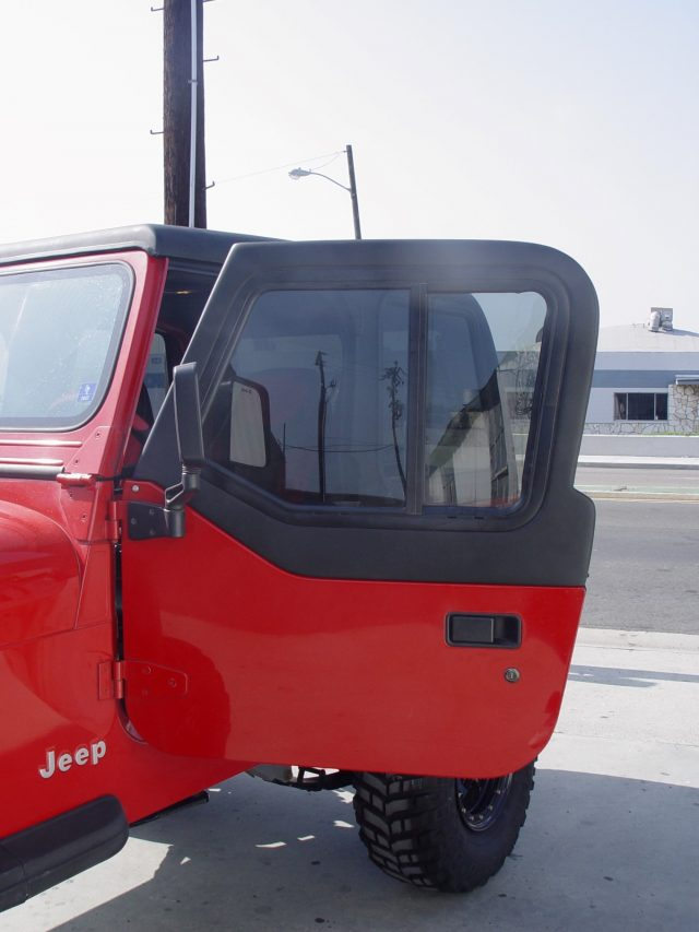 Jeep Half Doors Are Available For All Hard Or Soft Top