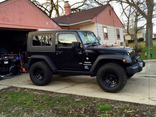 1 Piece Removable Hardtop For Jeep Wrangler JK 2 Door ...